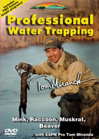 Professional Water Trapping with Tom Miranda Double DVD SW9059